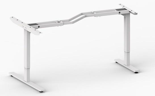 Stelaż biurka dwunożnego asymetrycznego