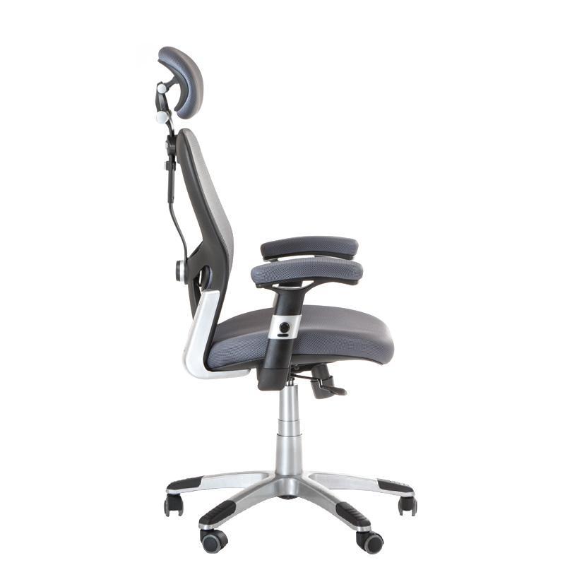 Fotel biurowy szary