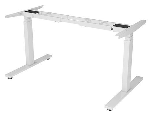 Stelaż biurka zelektrycznie regulowaną wysokością wzakresie 620-1260mm wkolorze szarym PROMOCJA