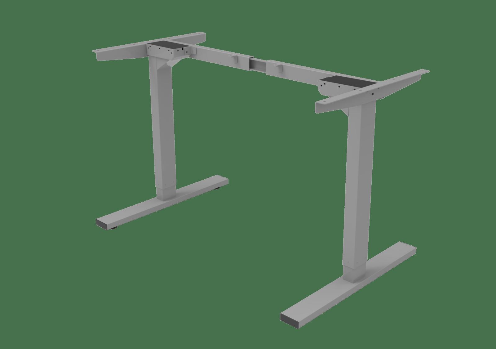 Stelaż biurka zregulacją wysokości, dwusilnikowy BASIC